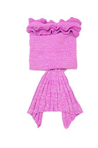 Mermaid Tail Blanket For Kids Crochet Snuggle Mermaid All