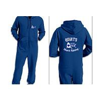 Quints Shark Fishing Adult Onesie Onesie Onesie